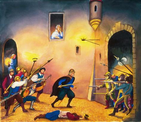 La Defense de la Porte de la Tertasse, 2005