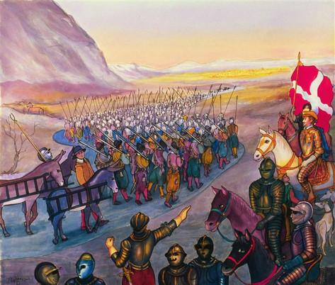 Le Duc de Savoie et ses Troupes, 2005