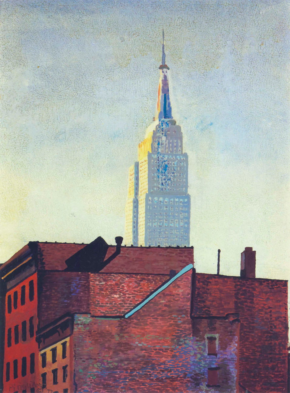 Empire State in August, 1977