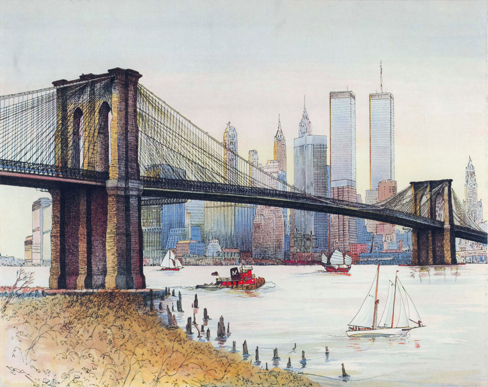 Brooklyn Bridge, 1983