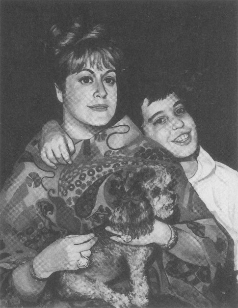 Mrs. John Forlenza with her Son, 1964