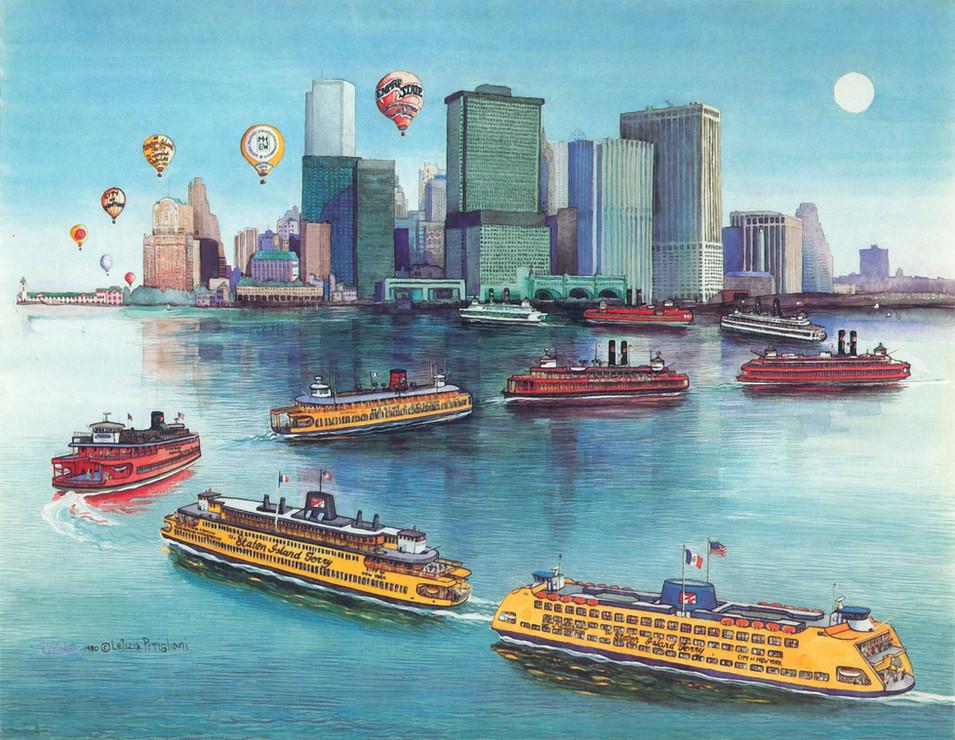 Staten Island Ferry, 1981