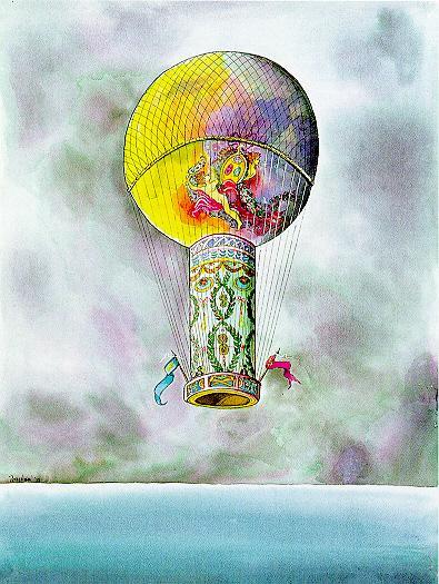 Pilatre des Rozier's Combination Balloon 1785, 1999