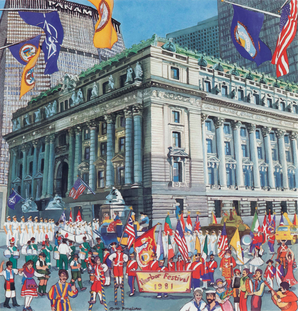 Celebration at the Customs House, 1981