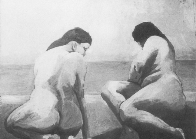 Two Nudes, 1955
