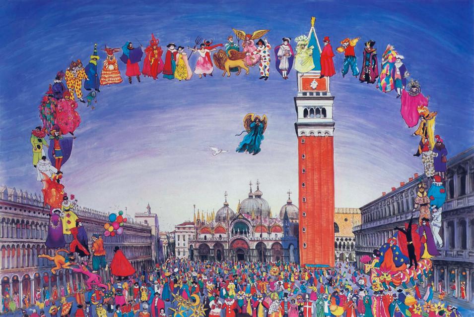 Carnival in Venice, 1985