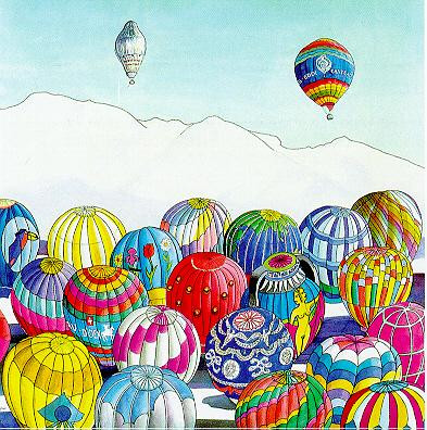 Chateau d'Oex Balloons, 1999