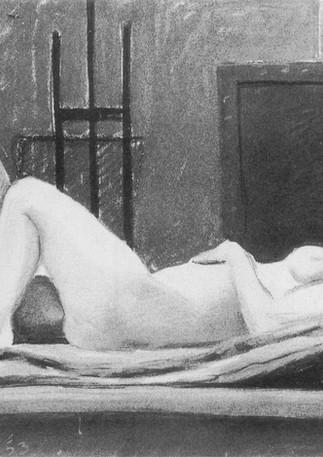 Ida Reclining, 1953
