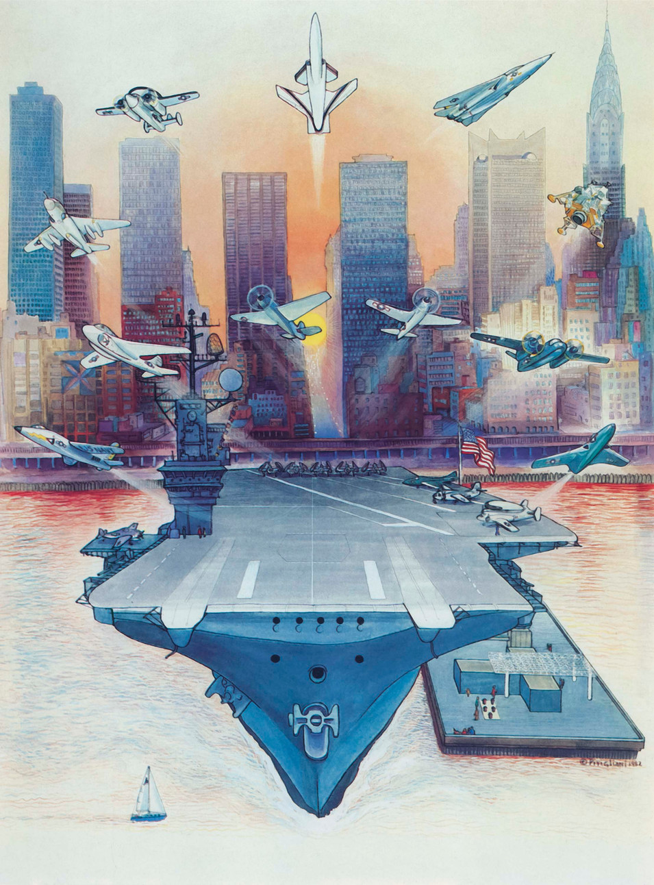Intrepid, 1982