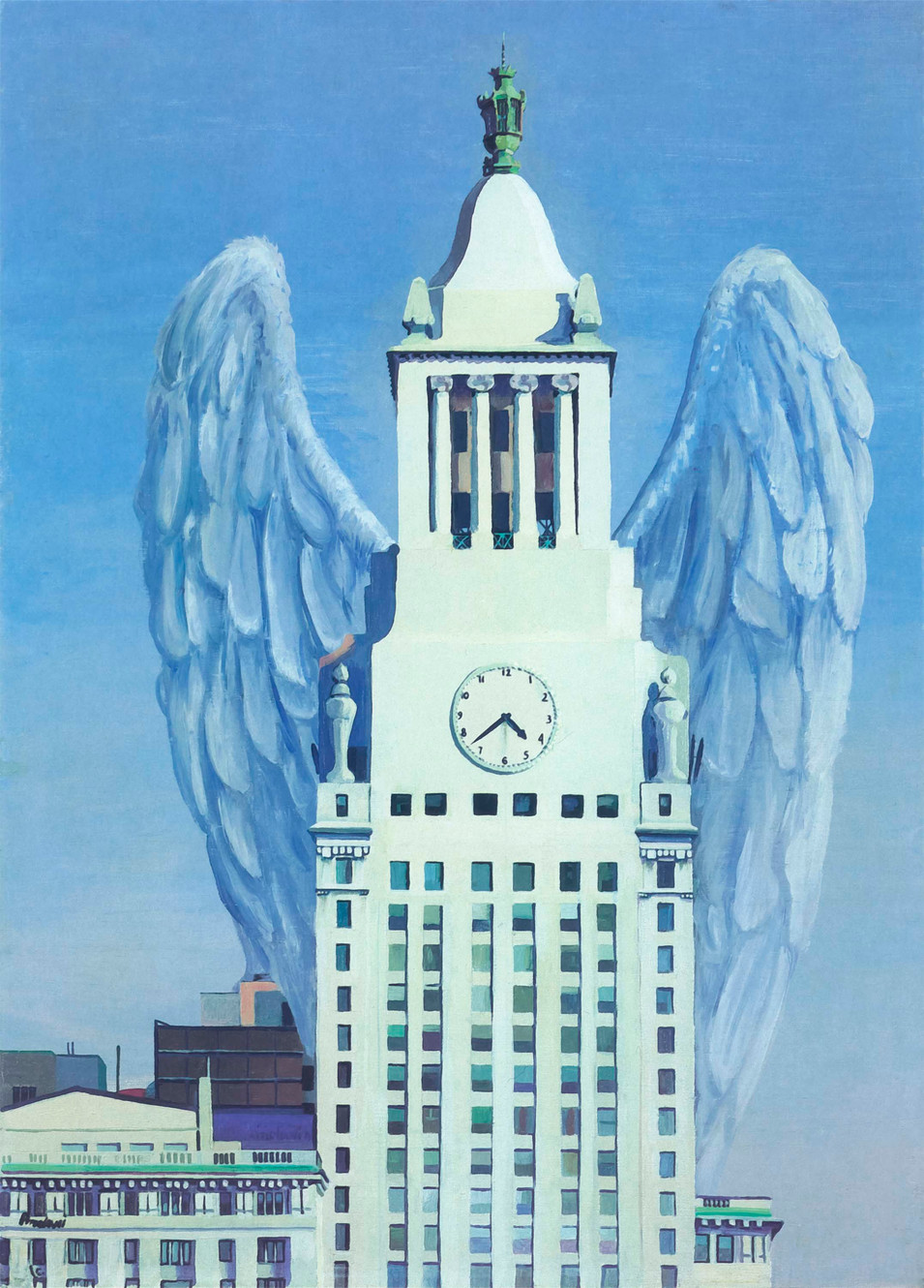Winged Tower, 1983
