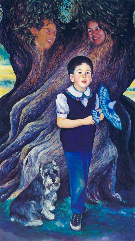 Portrait of Alberto, 1989