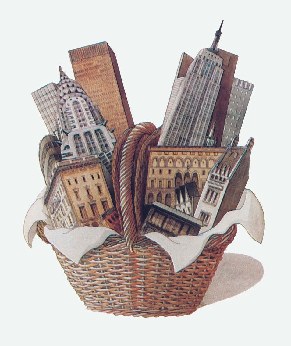 Basket of Buildings, 1977