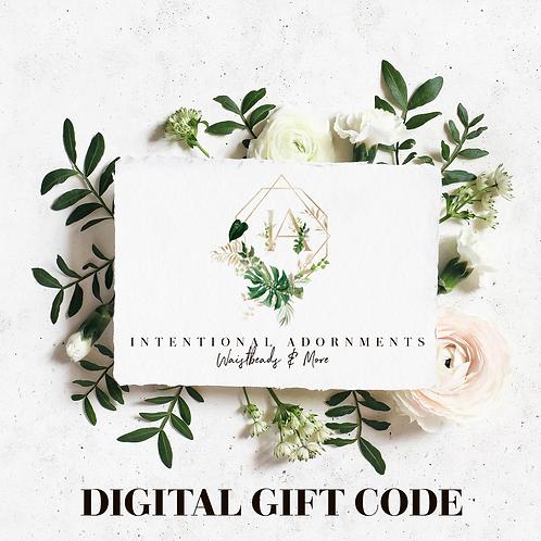 Digital Gift Code