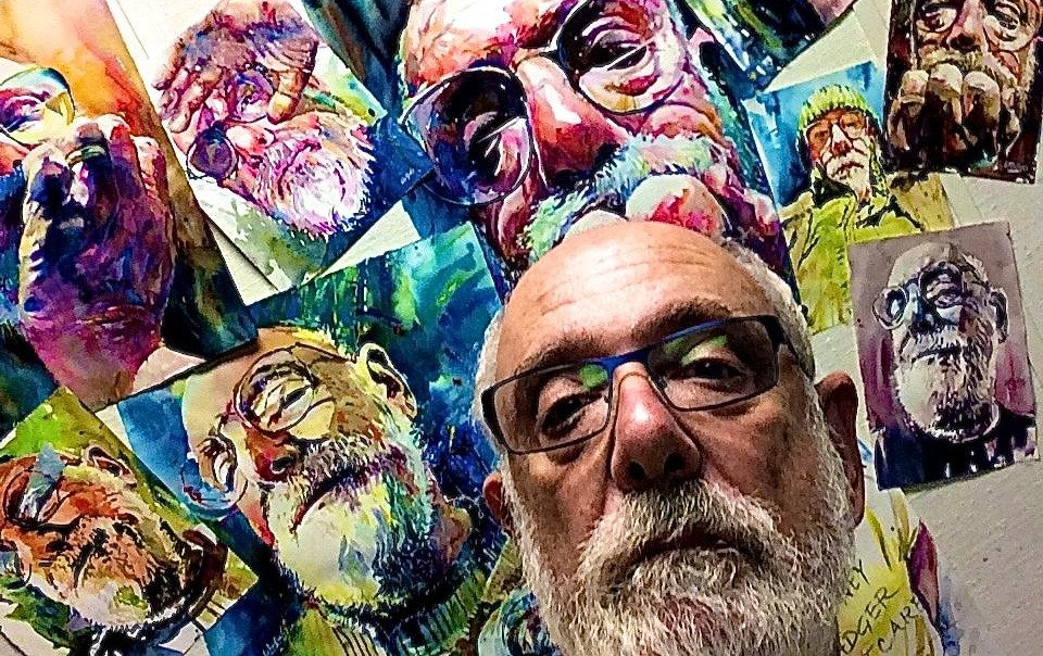 California Vibe Watercolor Portraits TM