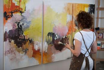 Audrey Phillips, artist & workshop leader