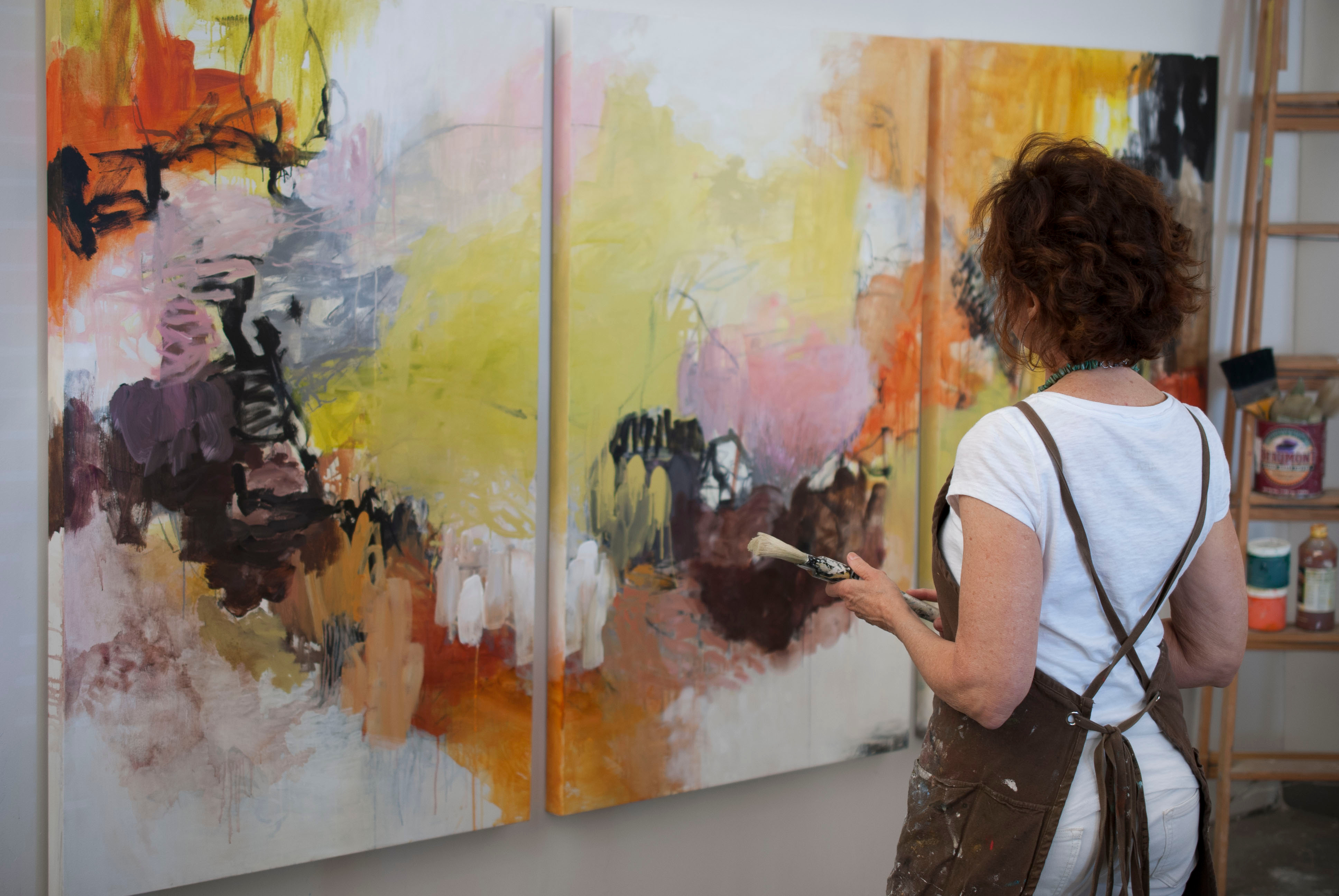 Abstract Painting Immersion