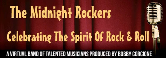 Midnight Rockers Virtual Band 2020 Logo.