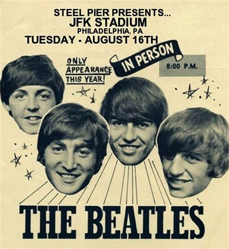 Tonight In 1966 The Beatles Played Philadelphias JFK Stadium