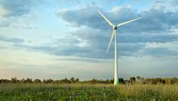 Model 3D turbiny wiatrowej