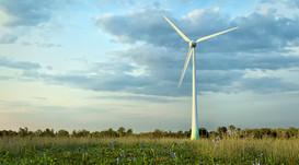 Wind turbine 3D model
