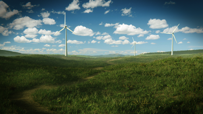 Prezentacja farmy wiatrowej