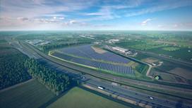 Solar farm visualization