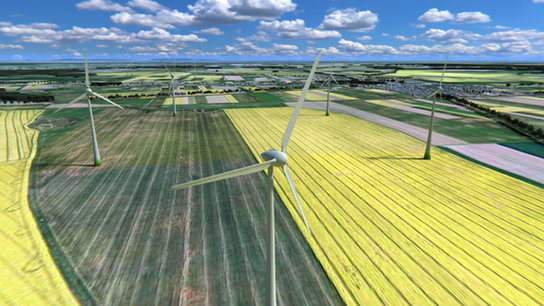 Presentation of wind farm project