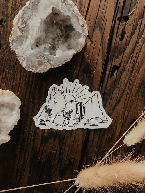 Southwest Campout Sticker