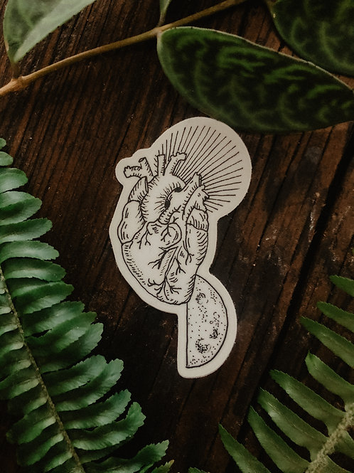 Celestial Heart Sticker