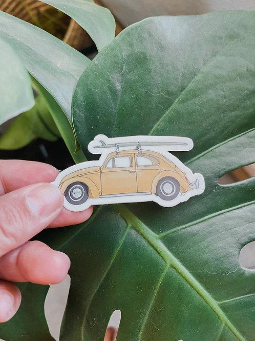 Beach Buggin' Sticker