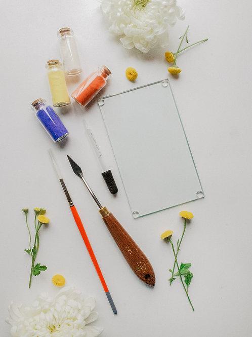 Natural Pigment Powder Watercolor Kit
