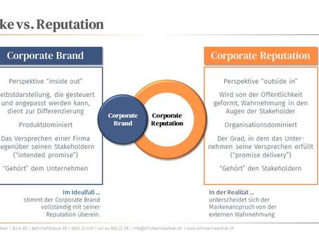 Marke vs. Reputation oder Marke + Reputation?