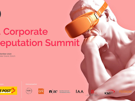 Nach dem 2. Corporate Reputation Summit – wo stehen wir im Jahr 2020?