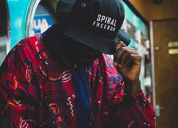 Spiral Freerun Bucket Hat