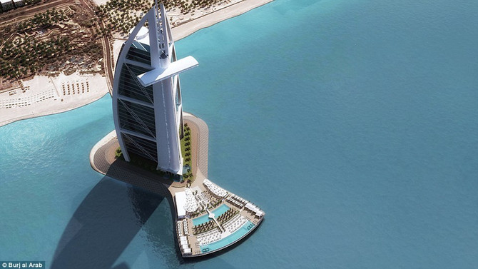 Burj Al Arab to launch revolutionary 'North Deck' leisure concept