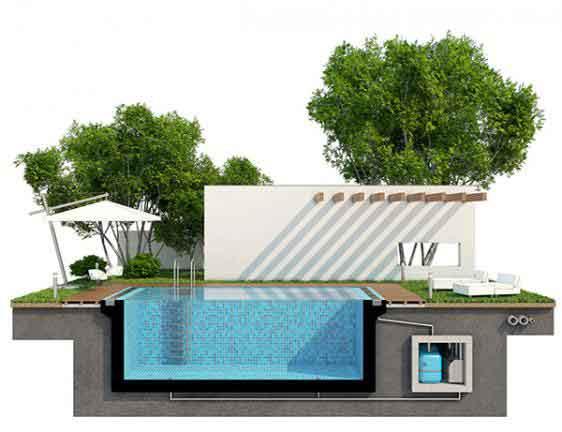 plan construction piscine