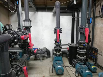 pompe filtration piscine camping