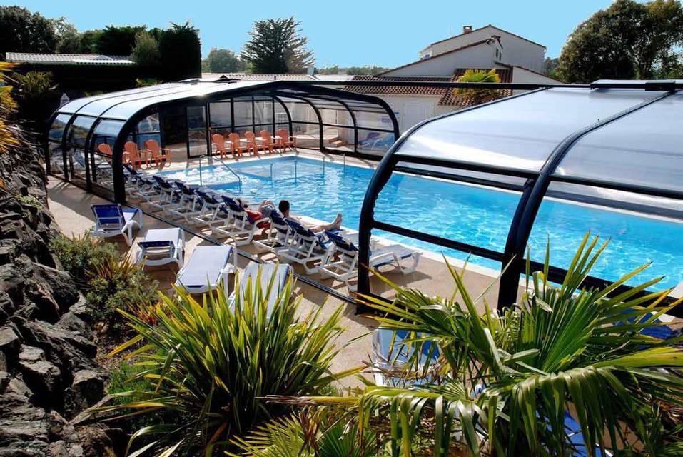 Abri piscine modulable
