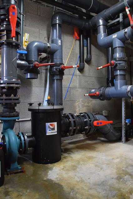 pompe de filtraion et hydraulique
