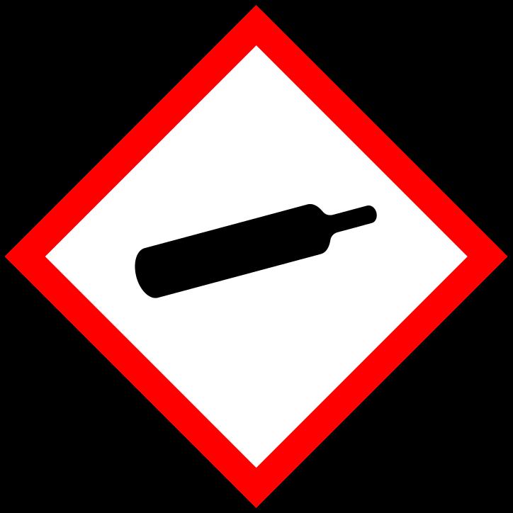 Pictogramme gaz sous pression