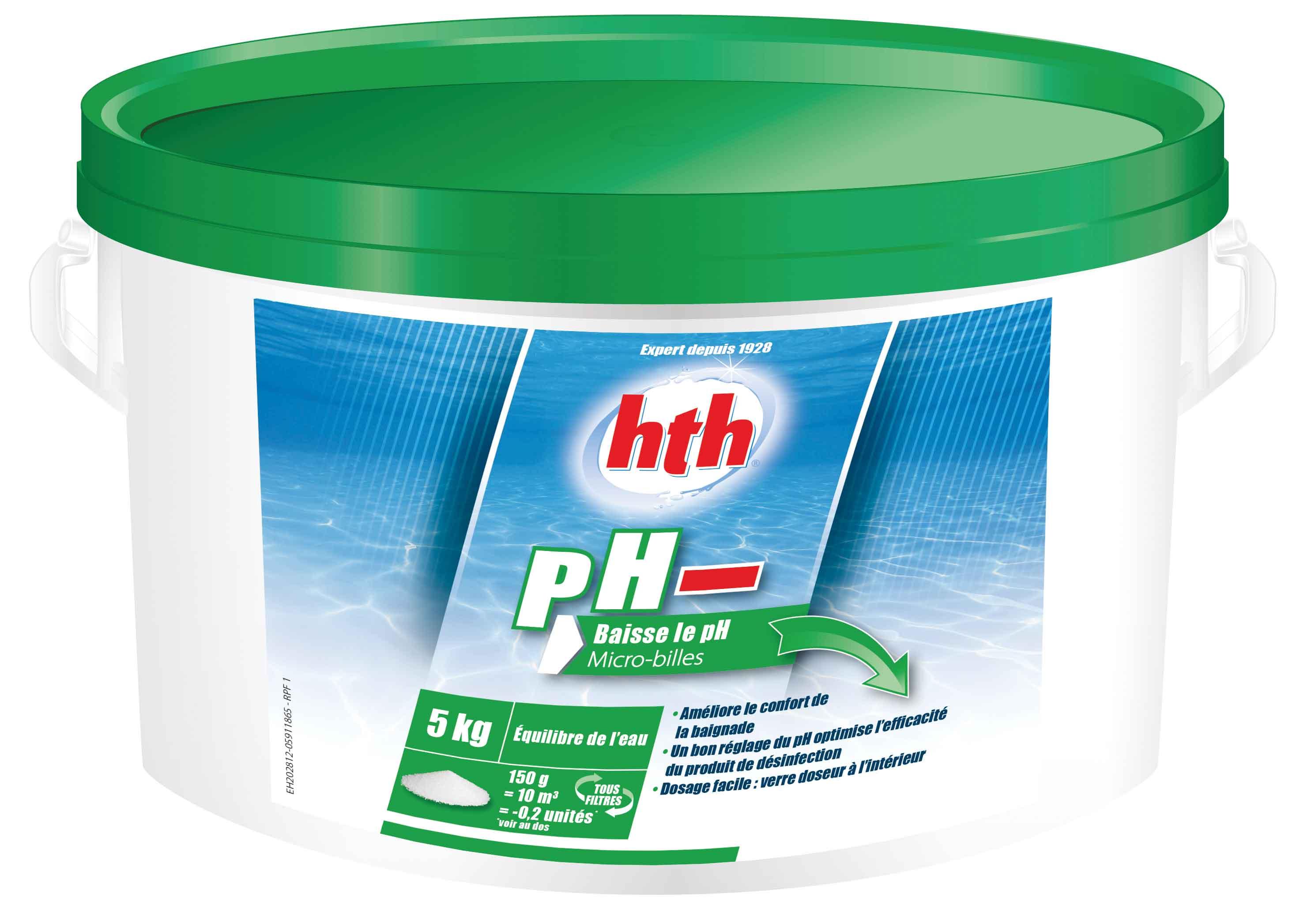 hth pH moins