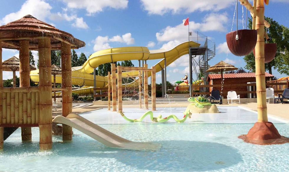 Espace aquatique pour enfants