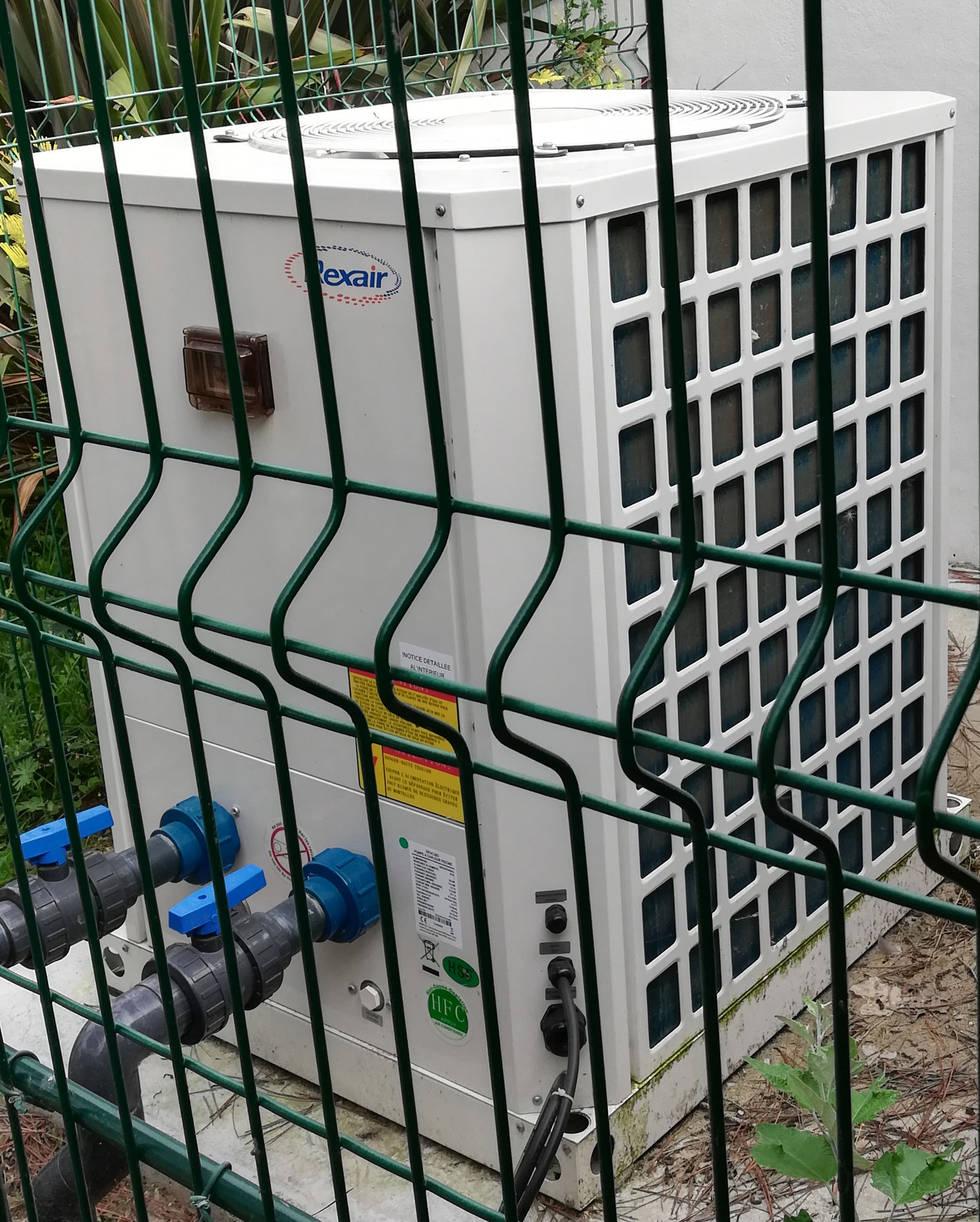 pompe à chaleur piscine extérieure