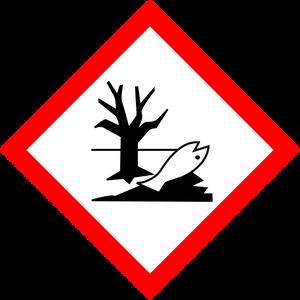 Pictogramme Danger pour le milieu aquatique