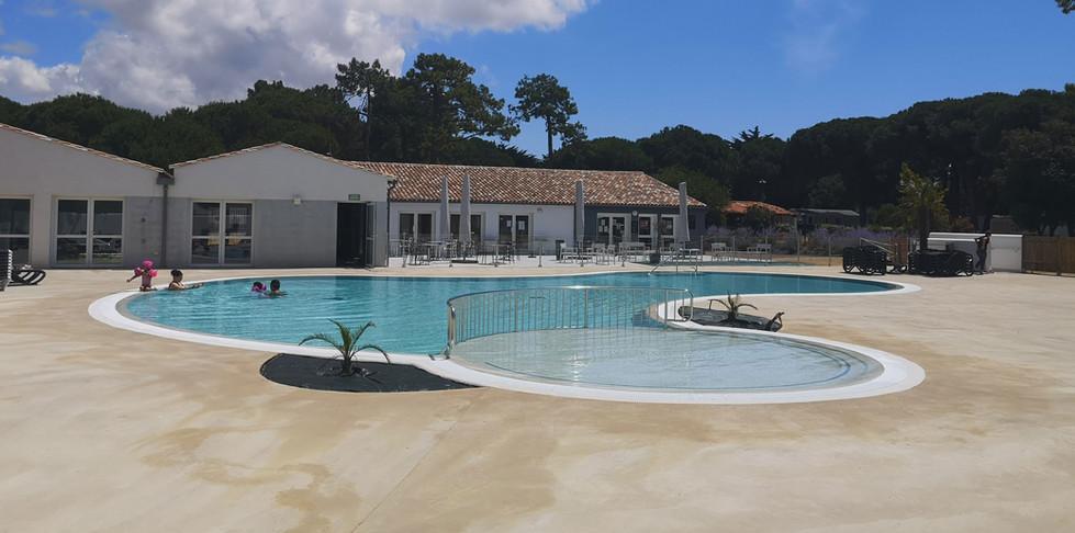 Rénovation de piscine à usage collectif