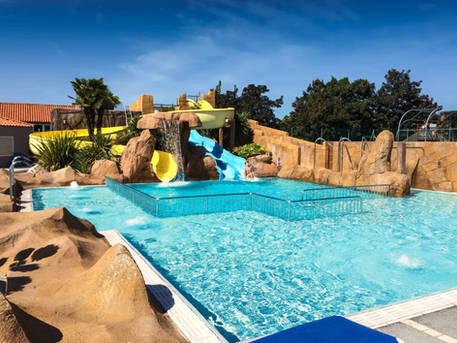 Un petit plus pour cette piscine récréative.