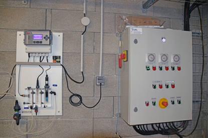 régulation automatique et tableau électrique