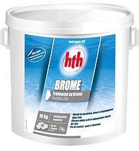 hth Brome 20g - Pour une désinfection optimale et régulière - Idéal pour les eaux chaudes (piscines privées et spas)