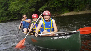 Canoeists and Swimmers