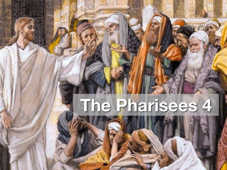 The Pharisees 4 - Not Realising We Need Healing